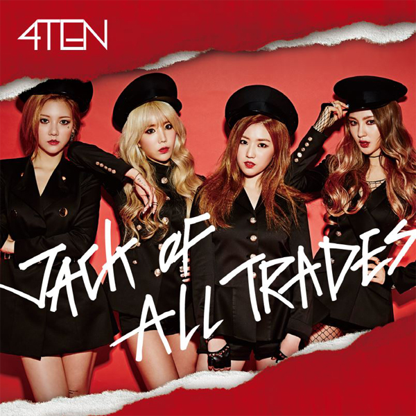 4TEN - Mini Album Vol.1 [JACK OF ALL TRADES]