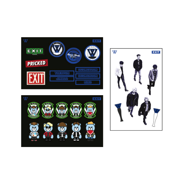 WINNER - WINNER X KRUNK STICKER SET [2016 WINNER EXIT TOUR IN SEOUL]