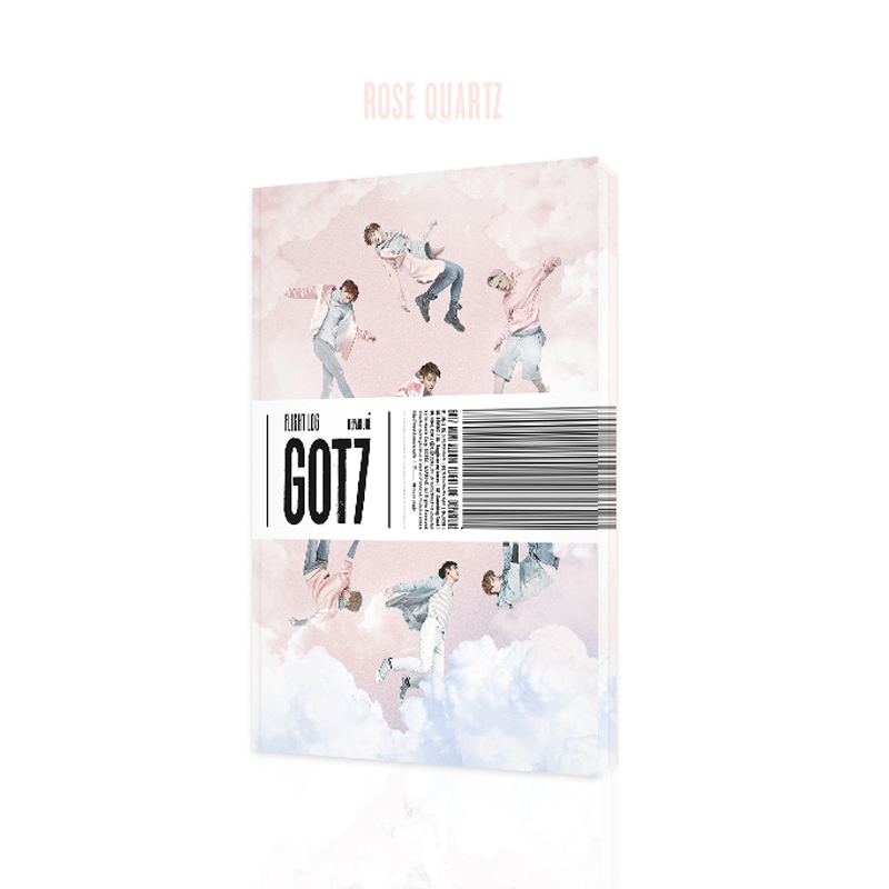 GOT7 - Mini Album Vol.5 [FLIGHT LOG : DEPARTURE] (RANDOM Ver. : Rose Quartz Ver., Serenity Ver.)