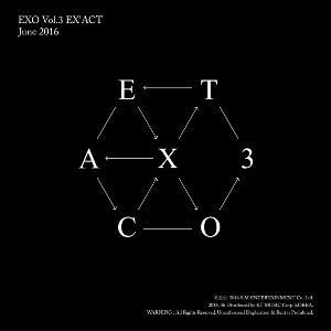 EXO - Album Vol.3 [EX'ACT] (Chinese Ver. / Random ver.)