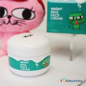[costagram] OKCAT MILK FACE CREAM (2PM :Taec Yeon)