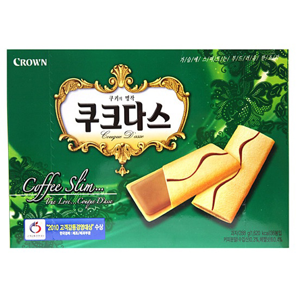 [CROWN] COUQUE D'ASSE Coffee 36pcs 288g