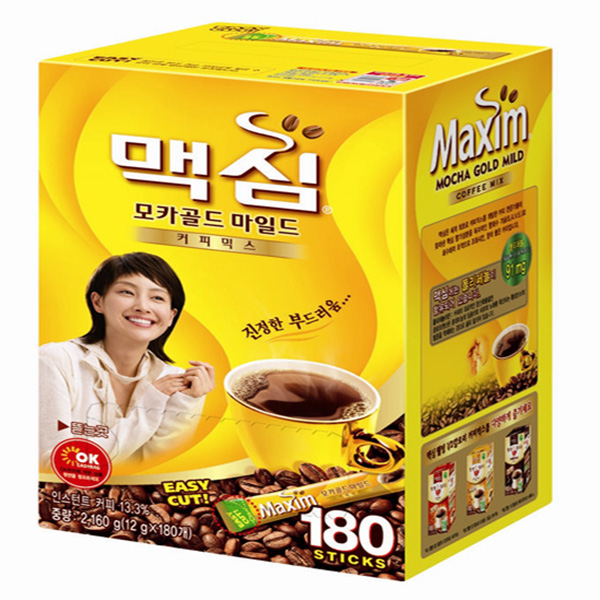 [Maxim] Mocha Gold Mild coffee 180ea