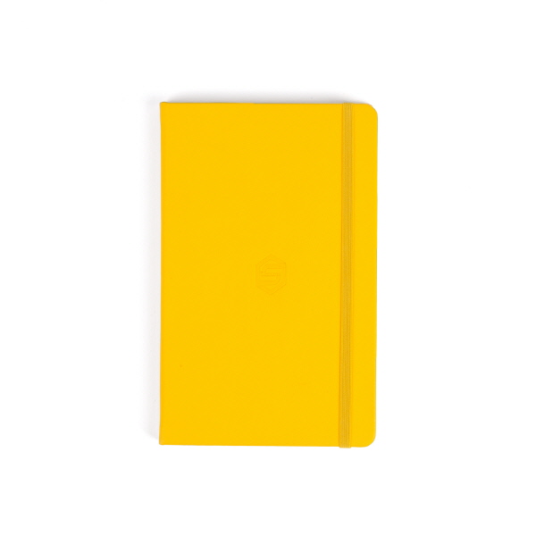SECHSKIES - HARD COVER NOTEBOOK [2016 SECHSKIES CONCERT YELLOW NOTE]