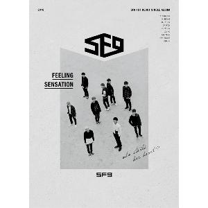 SF9 - 1st Debut Single Album [Feeling Sensation]