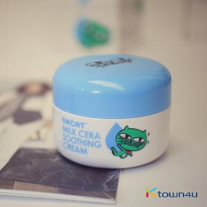 [costagram] OKCAT MILK CERA SOOTHING CREAM (2PM :Taec Yeon)
