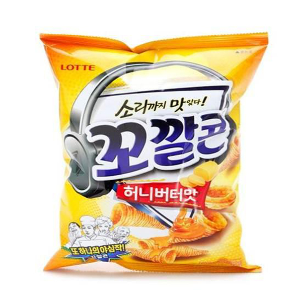 [LOTTE] Honey Butter Kkokkalcorn 132g (BTS)