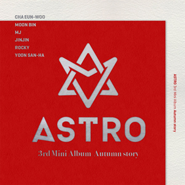 ASTRO - Mini Album Vol.3 [Autumn story] (Red ver.)