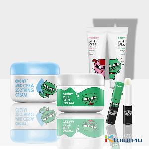 [SET][costagram] OKCAT MILK CERA HAND CREAM + SOOTHING CREAM + DEEP CHOC LIP BALM + MILK FACE CREAM (2PM :Taec Yeon)