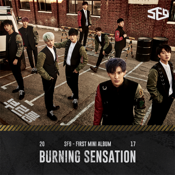 SF9 - Mini Album Vol.1 [Burning Sensation]