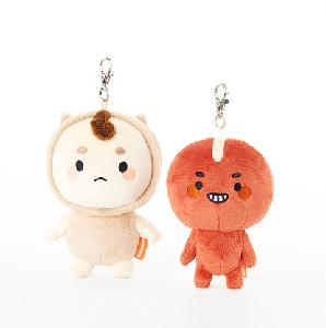 Guardian: The Lonely and Great God - Boglegel&Poipot Keyring