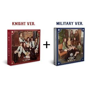 (First press) [SET][2CD + 2POSTER SET] GFRIEND - Mini Album Vol.4 [THE AWAKENING] (Military ver.) + (Knight ver.)