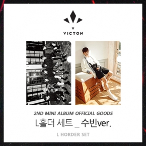VICTON -  L HOLDER SET (Subin ver.) [2nd Mini Album Offcial Goods]