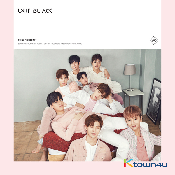 BOYS24 : UNIT BLACK - Single Album [Steal Your Heart] (A ver.)