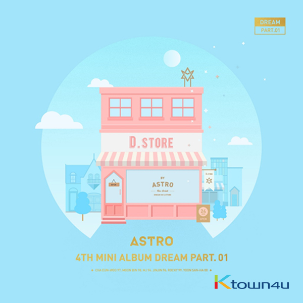 ASTRO - Mini Album Vol.4 [Dream Part.01] (DAY ver.)