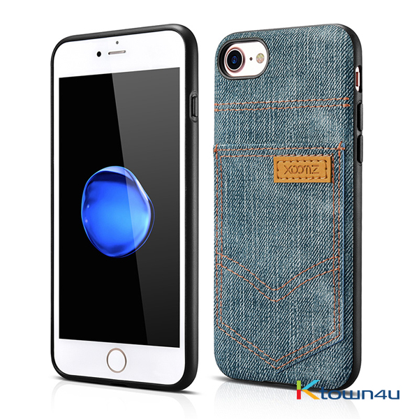 [XOOMZ] iPhone Jeans Pocket PU Back Cover