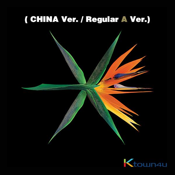 EXO - Album Vol.4 [THE WAR] (Chinese Ver. / Regular A Ver.)