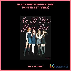 BLACKPINK - POP-UP STORE POSTER SET (VER. 1)