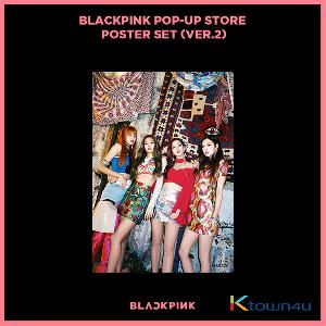 BLACKPINK - POP-UP STORE POSTER SET (VER. 2)