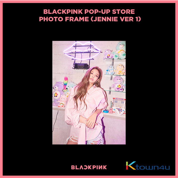 BLACKPINK - POP-UP STORE PHOTO FRAME (JENNIE VER 1) (It cannot be ship out as small packet, please meke order as Parcel POST or EMS )