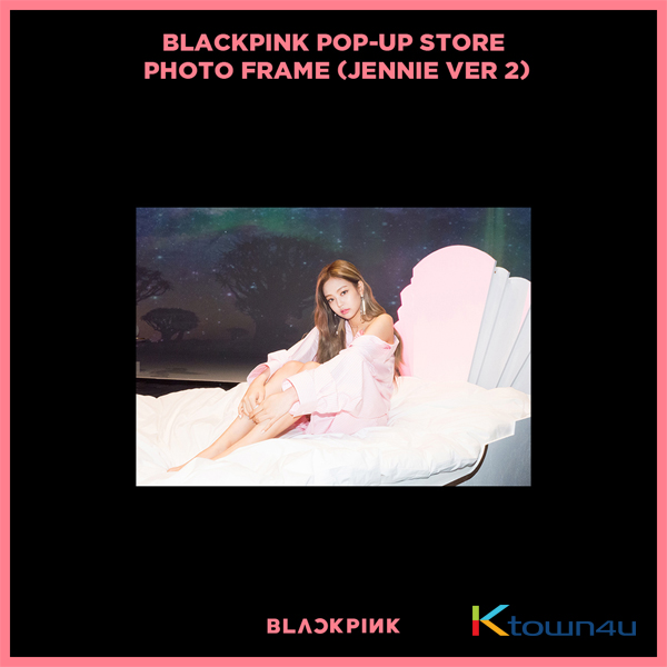 BLACKPINK - POP-UP STORE PHOTO FRAME (JENNIE VER 2) (It cannot be ship out as small packet, please meke order as Parcel POST or EMS )
