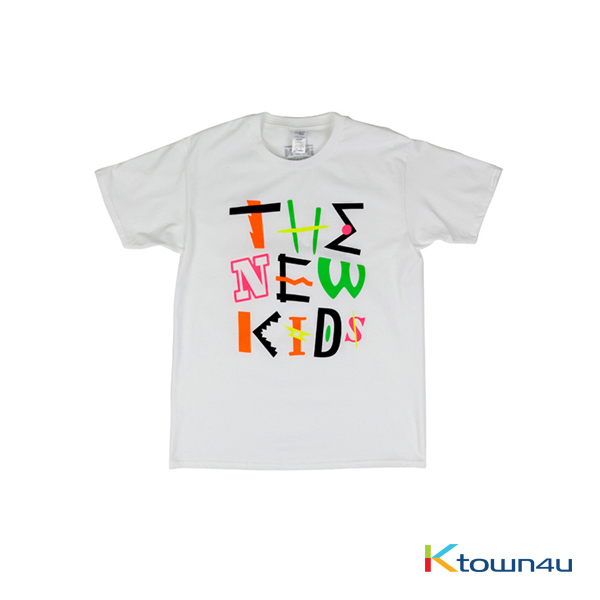 [NEWKIDS] iKON - T-SHIRTS TYPE 1 (WHITE)