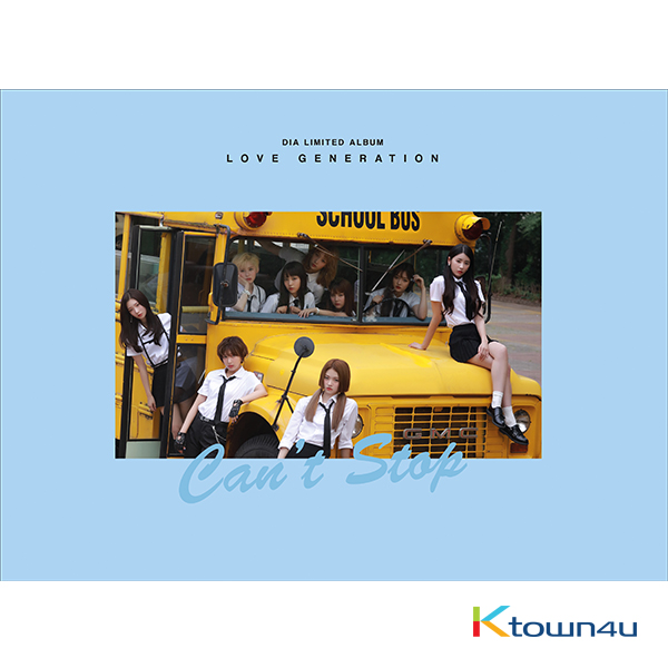 DIA -  Album Vo.3 [LOVE GENERATION] (Limited Edition)