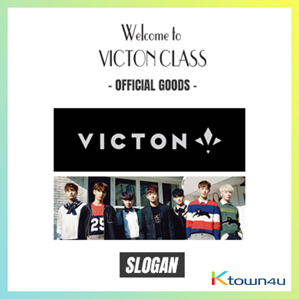 VICTON - SLOGAN [1st Fan Meeting Offcial Goods- Ready]
