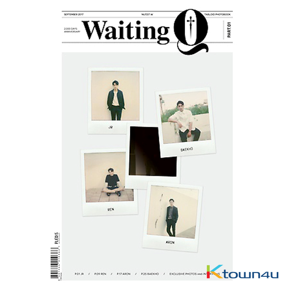 [Photobook] NU`EST - Waiting Q (Second Press)