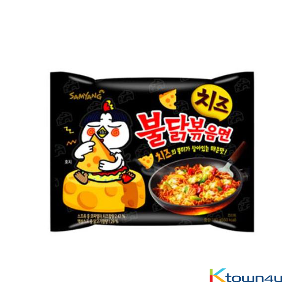 [SAMYANG] Cheese Spicy Chicken Roasted Noodles 140g * 1EA