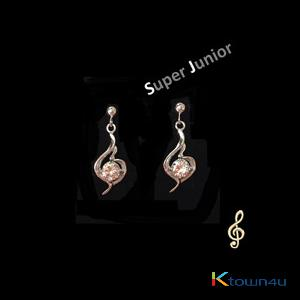 Super Junior - Super Junior Official earring (SILVER 925)