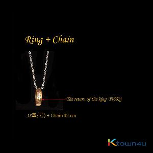 TVXQ - Dong Bang Shin Ki Official Ring + Chain