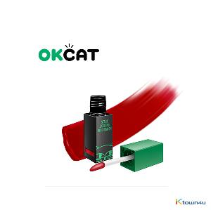 [costagram] OKCAT MILK FACE LIP CAPTURE TINT (#1010 Candy sweet red)