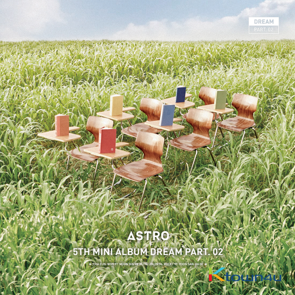ASTRO - Mini Album Vol.5 [Dream Part.02] (Wind ver.)