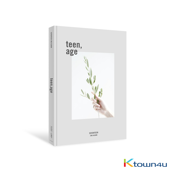 Seventeen - Album Vol.2 [TEEN, AGE] (WHITE Ver.)