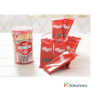 [LOTTE] Original Pepero cylinder 50th anniversary 184g (Limited Edition)