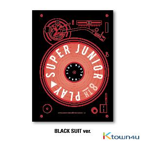 Super Junior - Album Vol.8 [PLAY] (Black Suit Ver.)