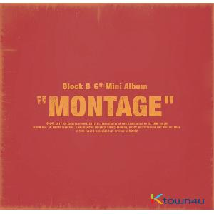 Block B - Mini Album Vol.6 [MONTAGE] (First press)