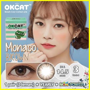 [OKCAT LENS] [NON-POWER] OKCAT Monaco Brown