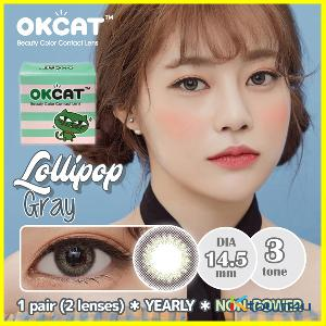 [OKCAT LENS] [NON-POWER] OKCAT Lollipop Gray