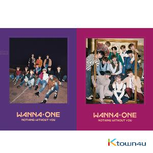 WANNA ONE - To Be One Prequel Repackage Album [1-1=0(NOTHING WITHOUT YOU)] (Random Ver.)