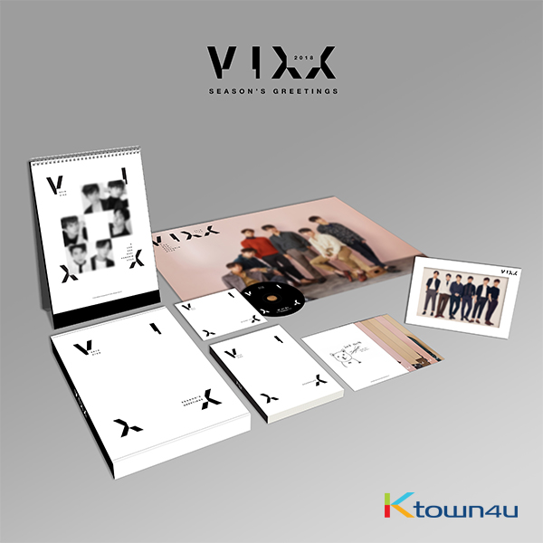 VIXX - 2018 SEASON GREETING (**Small registered packet & K-Packet is not possible to be sent)