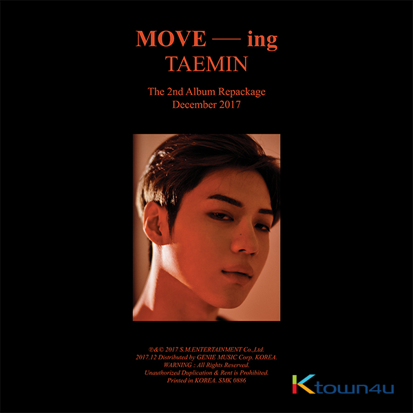 SHINEE : TAEMIN - Album Vol.2 Repackage [MOVE-ing]