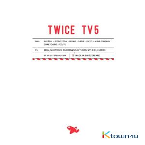 [DVD] TWICE - TWICE TV5 TWICE in SWITZERLAND DVD