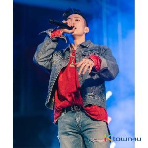 [Park Jae Bum (Jay Park)] NONA9ON - [MEN'S] WELCOME TO THE YEAR OF DOG APPLIQUED DENIM JACKET