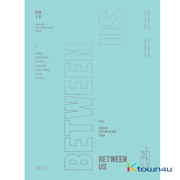 [DVD] CNBLUE - 2017 CNBLUE [BETWEEN US] TOUR DVD
