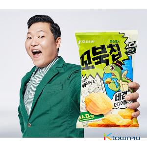 [Orion] Turtle Chip Snack Corn soup 136g (PSY)