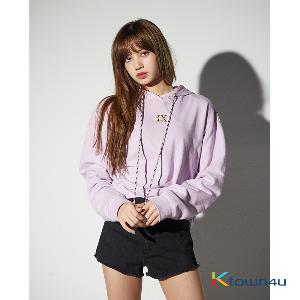 [LISA] [WOMEN'S] NONA9ON - EMBROIDERED HOODIE (PE)