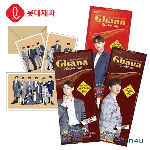 [LOTTE] Ghana Plus 100 Mild 34g*10EA (Wanna one postcard 5p Limited Edition)