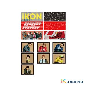 [RETURN] iKON - RETURN STICKER SET